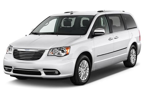 Chrysler Town and Country billeje