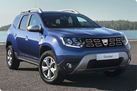 Rent a Dacia Duster