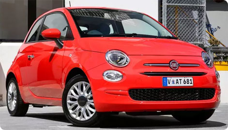 Rent A Fiat 500 in Italy