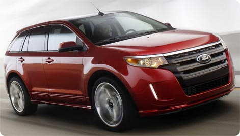 Ford Edge SUV lejebil