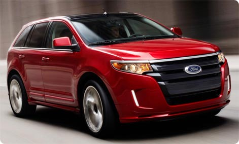 Ford Edge - Rent A SUV