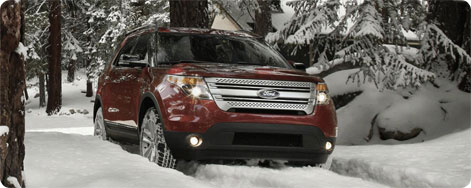 Ford Explorer Vinter