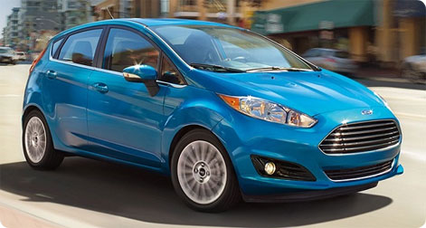 Rent a Ford Fiesta Spain