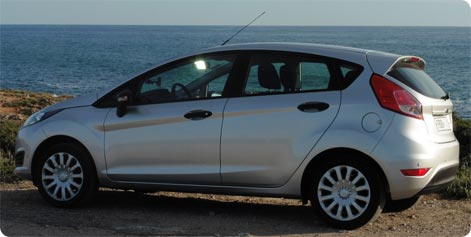 Ford Fiesta rental car Spain