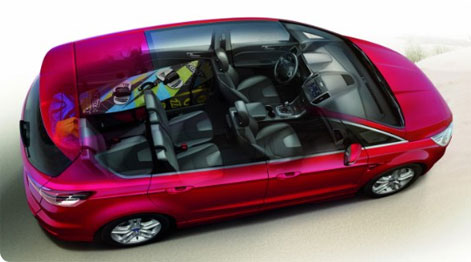 Ford S-Max space