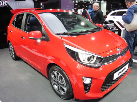Kia Picanto udlejningsbil