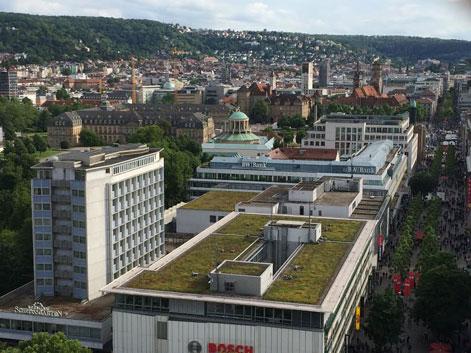 Stuttgart rejseguide - seværdigheder i Stuttgart - Mercedes Museum - Tyskland billeje