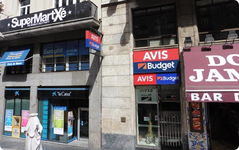 Avis Budget Madrid Gran Via 60