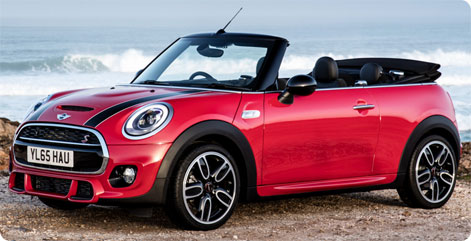 Mini Cooper S Convertible Rental Spain Marbesol