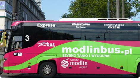Modlin Airport Bus