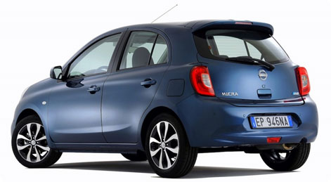 Nissan Micra Facelift 2014