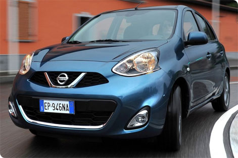 Nissan Micra front picture