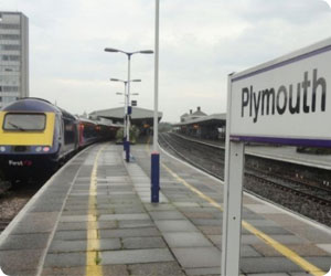 Plymouth Train Station/City - Rent-A-Car Services i Devon