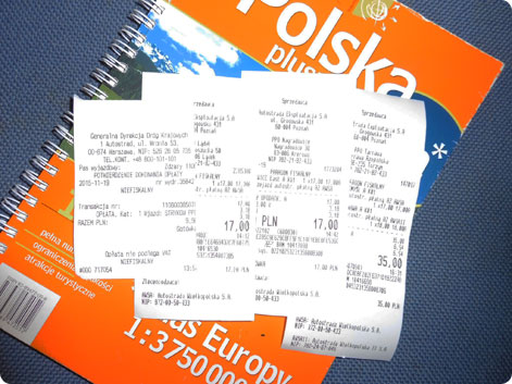 Poland toll tickets