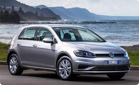 Billigste ny VW Golf tilbud Danmark - pris efter nye bilafgifter - aktuelt mest solgte bil i Danmark