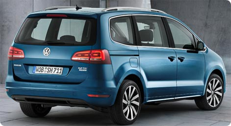 VW Sharan 2015 facelift