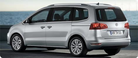 Leje VW Sharan