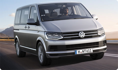 VW Transporter leje