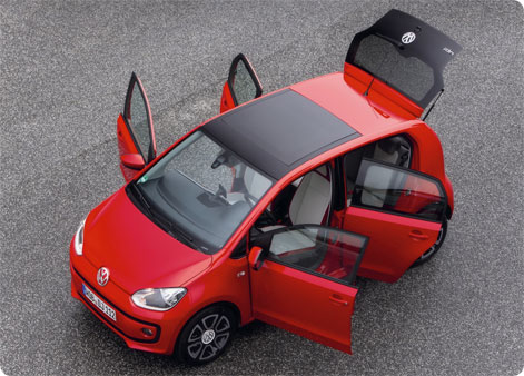 VW Up lejebil